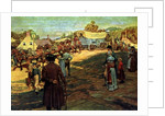Carrying Powder to Perry at Lake Erie by Howard Pyle