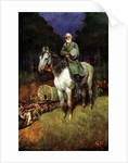 General Lee on his Famous Charger, 'Traveller' by Howard Pyle