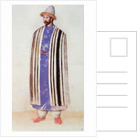 Tartar or Uzbek Man by John White