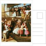 Embarkation Scene by George Tuson