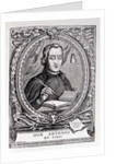 Portrait of Antonio de Solis y Rivadeneira by English School