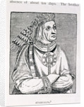 Portrait of the Last Inca Chief, Atahualpa by English School