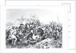 Battle of Saratoga - General Arnold Wounded in the Attack on the Hessian Redoubt by American School