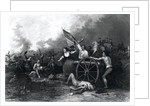 Moll Pitcher at the Battle of Monmouth by Dennis Malone Carter