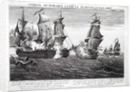 The Memorable Combat Between Captain Pearson, the Commander of 'The Serapis' and John Paul Jones, Commander of 'Le Bonhomme Richard', 22nd September 1779 by Richard Paton