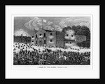 The Siege of the Alamo by American School