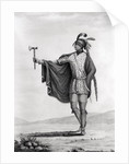Indian of the Nation of Kaskaskia by French School