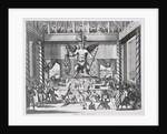 Mexican God Huitzilopochtli by Jacob van Meurs