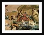 Europe by Giovanni Battista Tiepolo