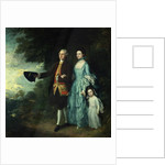 Mr. and Mrs. George Byam and their eldest daughter, Selina by Thomas Gainsborough