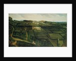 A Distant View of Corfe Castle by P. Danckerts
