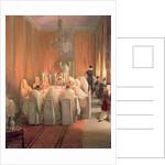 The Rothschild Family at Prayer by Moritz Daniel Oppenheim