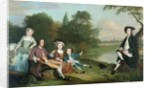 A family of Anglers by Arthur Devis