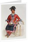 Tshusik, a Chippeway Woman by Charles Bird King