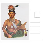 Appanoose, a Sauk Chief, 1837 by George Cooke