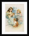 Kitten's Tea Party by Anonymous