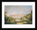 The Pont du Gard, Nimes by William Marlow
