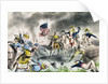 The Battle of New Orleans by American School