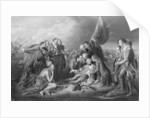 The Death of General Wolfe, 1759 by engraved by S. Smith