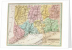 Map of Connecticut by American School