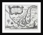 One of the earliest maps of the Straits of Magellan by Portuguese School