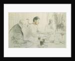 Maxim Gorky Reading his Poem, 'Children of Sun' by Ilya Efimovich Repin