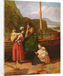 Fisherman's family by James Waite