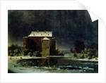 Haunted House in the Snow by George Emil Libert