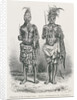 Magicians of the Loango Coast, engraved from a photograph by Dr. Falkenstein by English School