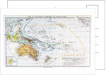 Map of the races of Oceania and Australasia by English School