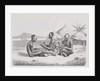 Shuli negroes playing music by Richard Buchta