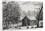 A frontier cabin by American School
