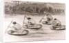 A Coracle Race on the Severn at Ironbridge, Shropshire by English School