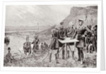The Distress in the West of Ireland: Landing Indian Meal at Inishboffin by Richard Caton II Woodville