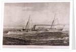 H.M. Torpedo Gun-Boat 'Rattlesnake' by English School