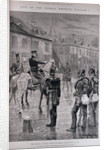 The Prince of Prussia During the Berlin Insurrection of 1848 by Richard Caton II Woodville