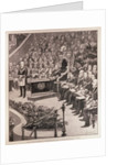 Grand Masonic Gathering in the Royal Albert Hall in Honour of the Queen's Jubilee by Amedee Forestier