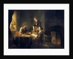 Christ in the House of Martha and Mary by Rembrandt Harmensz. van Rijn