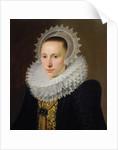 Portrait of a Lady by Cornelis van der Voort