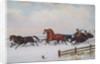 Winter Sleigh by Cornelius Krieghoff