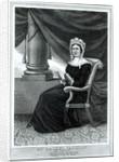 Mrs Rachel Jackson, pub. by Joseph How, c.1850-1900 by American School