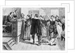 Witchcraft at Salem Village by American School
