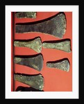 Flat Axes, prehistoric by Unknown