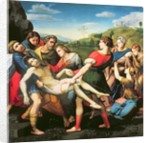 The Entombment, after a Painting by Raphael in the Villa Borghese, Rome, 17th century by Il Sassoferrato