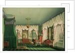 The Bedroom of Elizabeth of Bavaria, Schloss Tegernsee by Franz Xavier Nachtmann