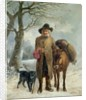 Gathering winter fuel by John Barker