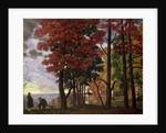 Autumn by Boris Mihajlovic Kustodiev