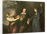 David Garrick between the Muses of Tragedy and Comedy by Sir Joshua Reynolds