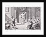 Cicero Denouncing Catiline, engraved by B.Barloccini by C.C Perkins