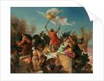 Godfrey de Bouillon, French Crusader by Karl Mucke